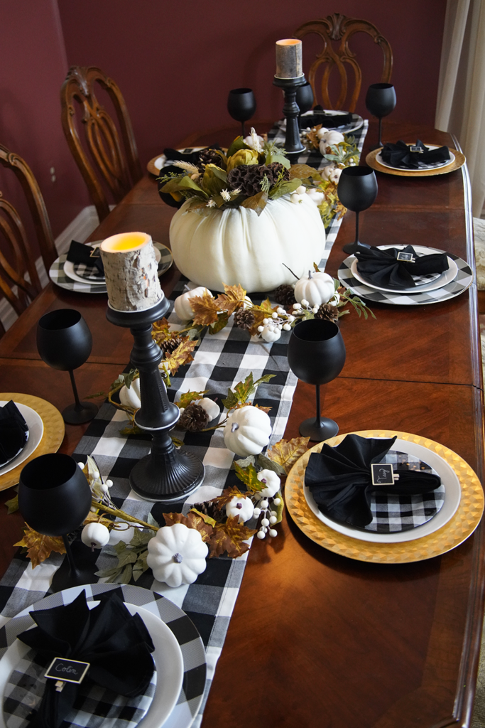 Sweet & Simple Elegance Thanksgiving Table Decor
