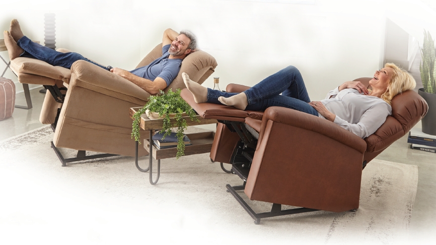 UltraComfort Patented Positioning Power Lift Chair Recliners